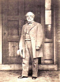 General Robert E. Lee in one of his last poses in uniform